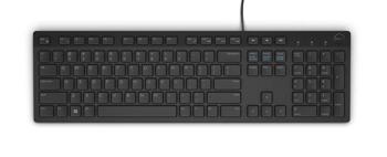 Cicha klawiatura multimedialna Dell KB216 Black