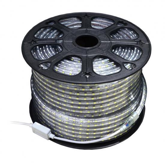ART Pasek LED ,IP65,12mm*50m,4.8W/m,60xSMD3528/m,230V! WW