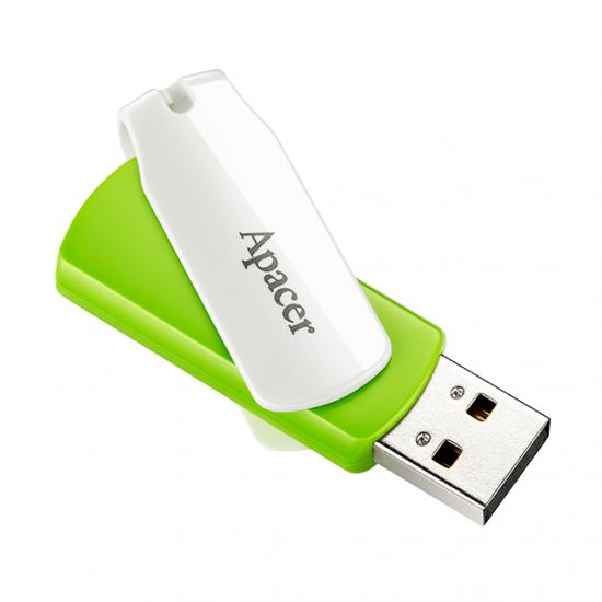 Apacer Pamięć USB AH335 16GB USB 2.0 Zielona
