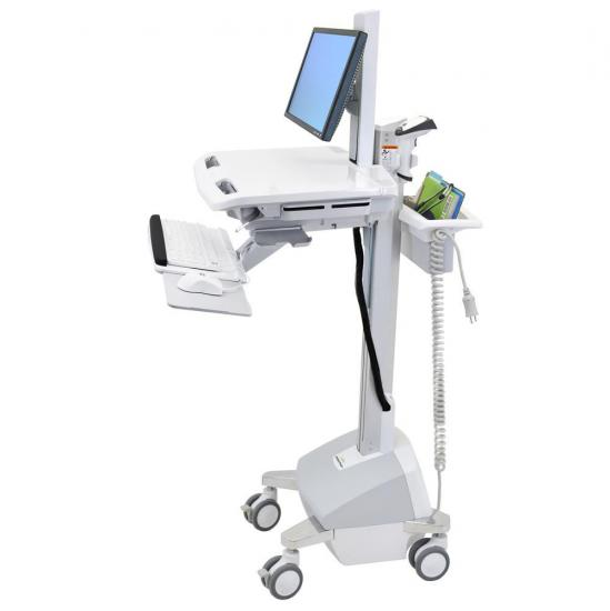 Ergotron StyleView® Cart with LCD Pivot, LiFe Powered - Refurbished