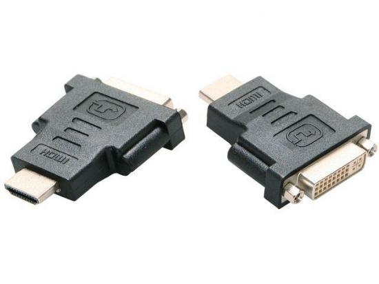 Gembird adapter HDMI(M) - DVI-D(F)(24+1) Single link, czarny