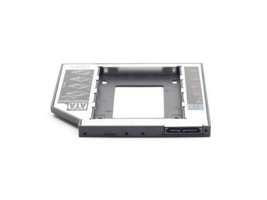 Gembird adapter/ramka HDD 5,25->2,5 12mm(HDD/SSD zamiast CD/DVD w laptopie)