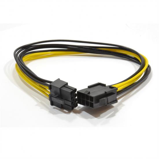 Gembird kabel wewnętrzny zasilający przedłużacz 6+2 pin PCI express, 0.3m