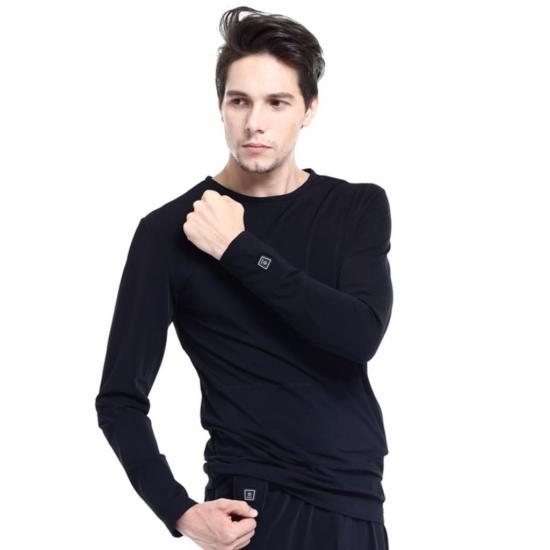 Ogrzewana termoaktywna bluza koszulka Glovii - S