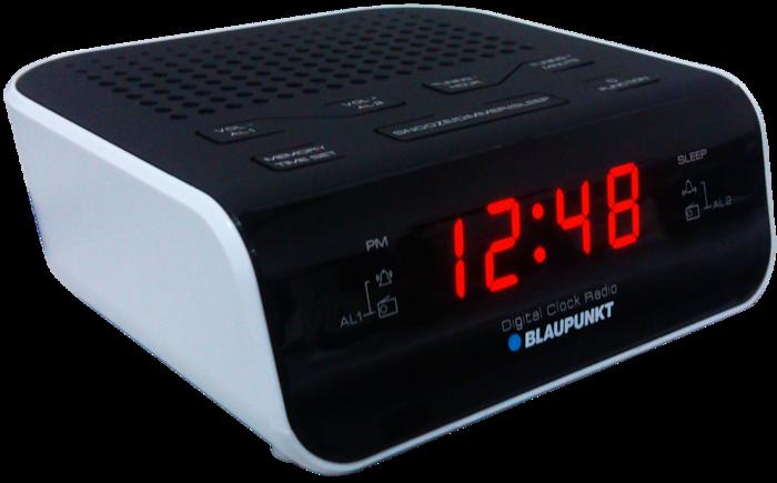 Radiobudzik Blaupunkt CR5WH 20 stacji FM PLL LCD