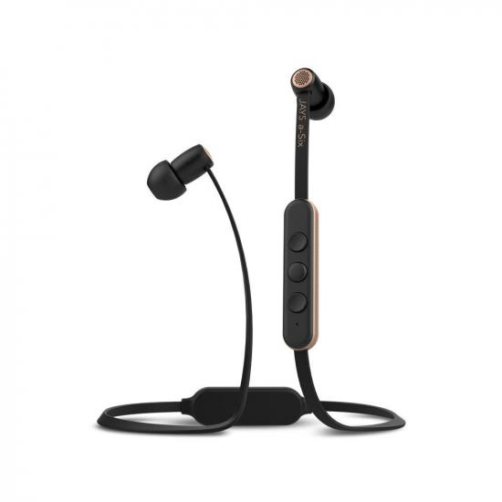 Słuchawki A-JAYS Six Bluetooth czarno-złote