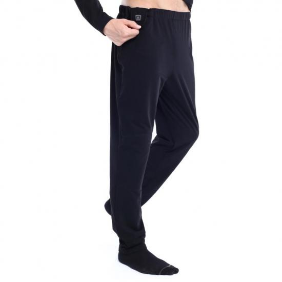Spodnie ogrzewane termoaktywne Glovii GP1 czarne S