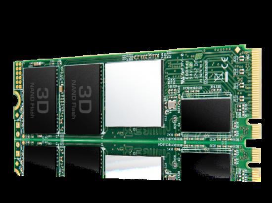 Transcend SSD 220S 512GB 3D NAND Flash PCIe Gen3 x4 M.2 2280, R/W 3300/2100 MB/s